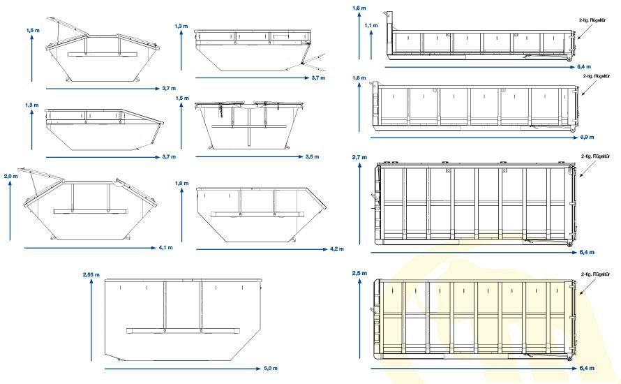 Muckenhuber alle Containertypen
